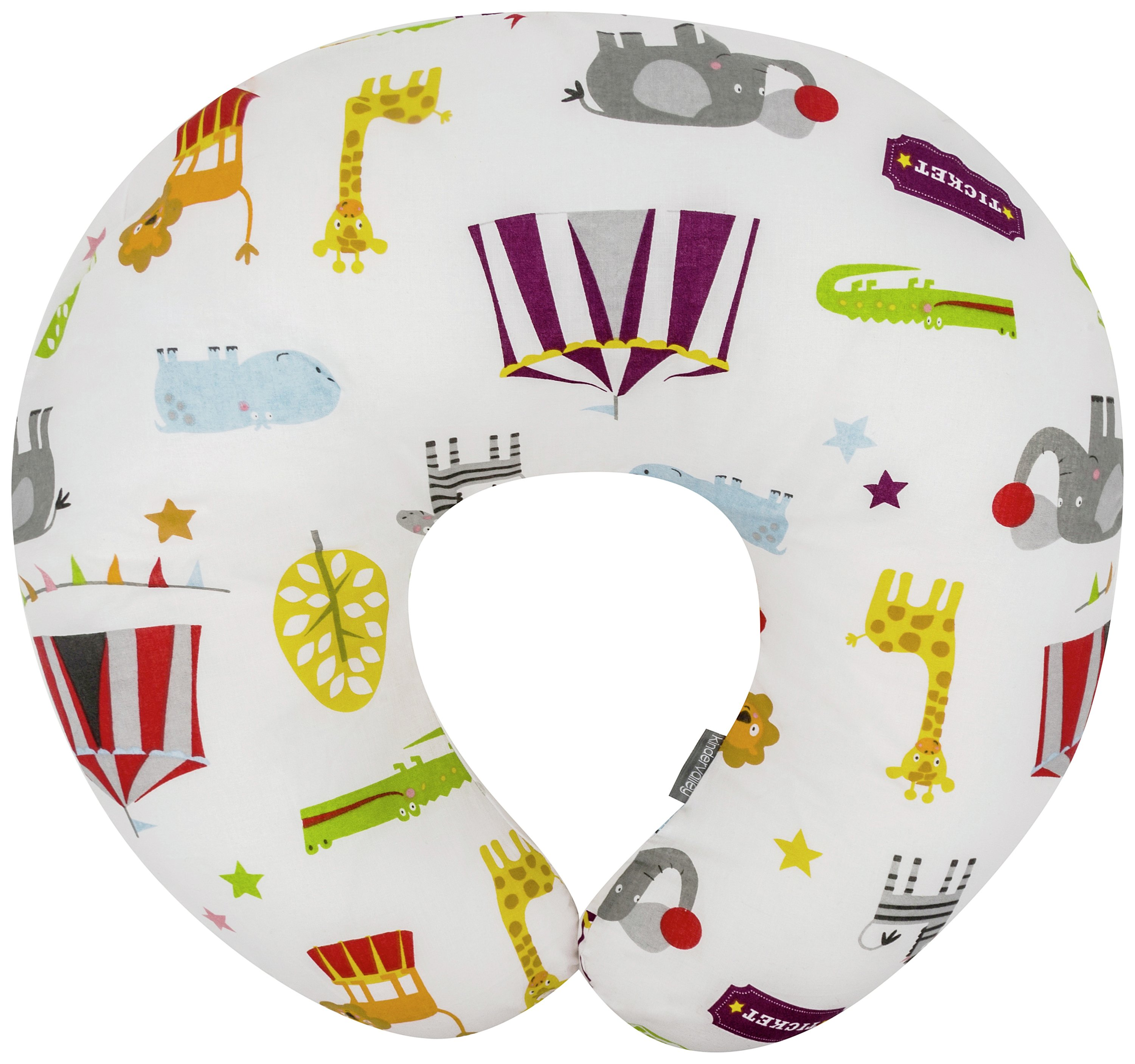 Image of Kinder Valley Circus Friends Donut Nursing Pillow