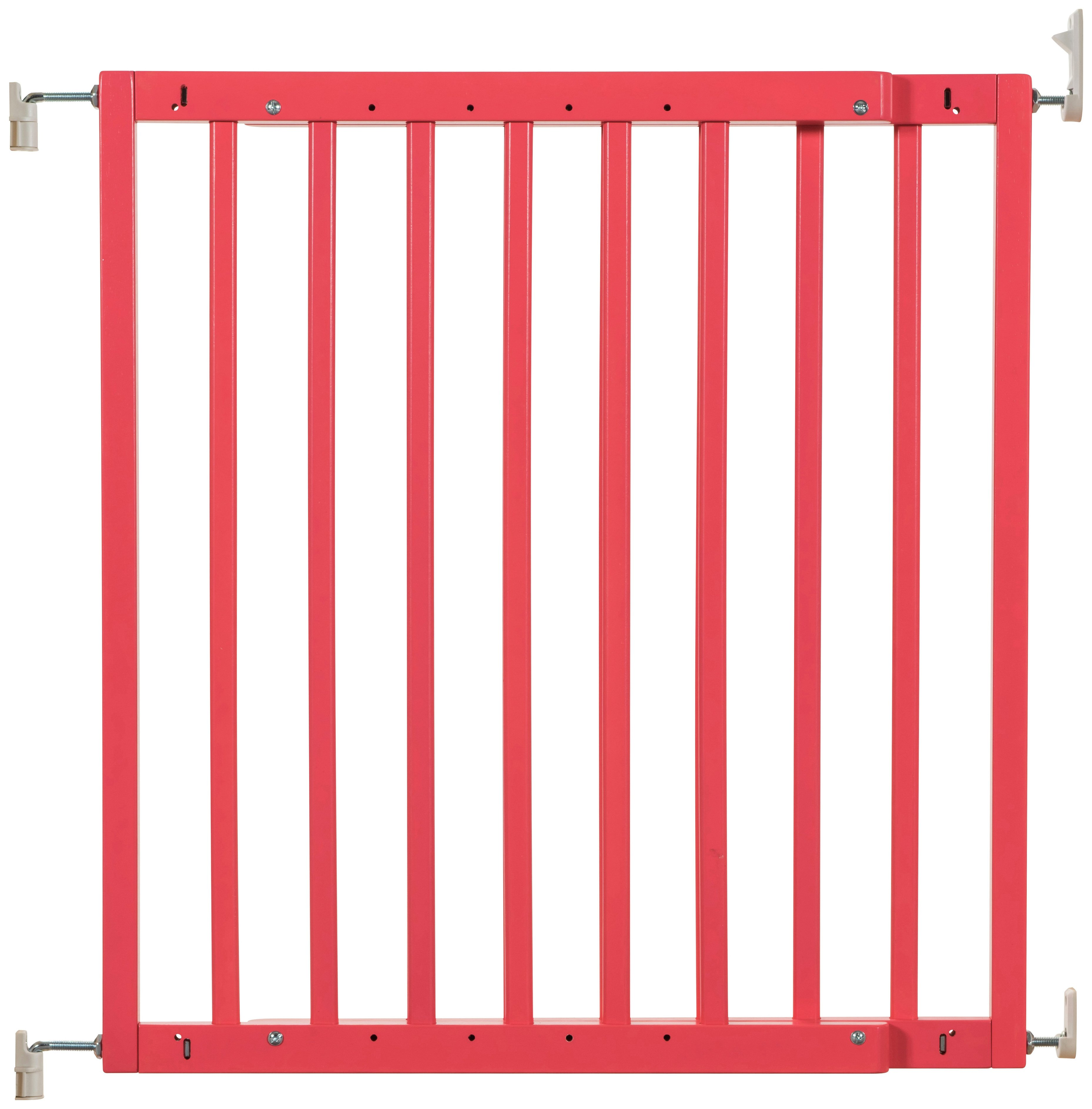 Badabulle Colour Pop Safety Gate - Coral Red