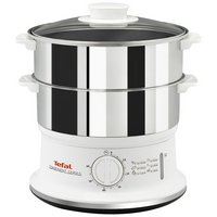 Tefal VC145140 2 Tier Convenient Stainless Steel Steamer.