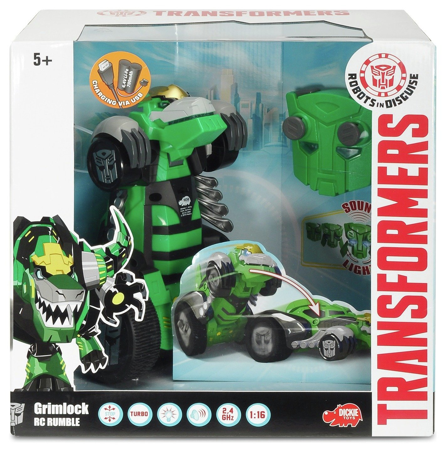 Dickie 1:16 RC Rumble Grimlock
