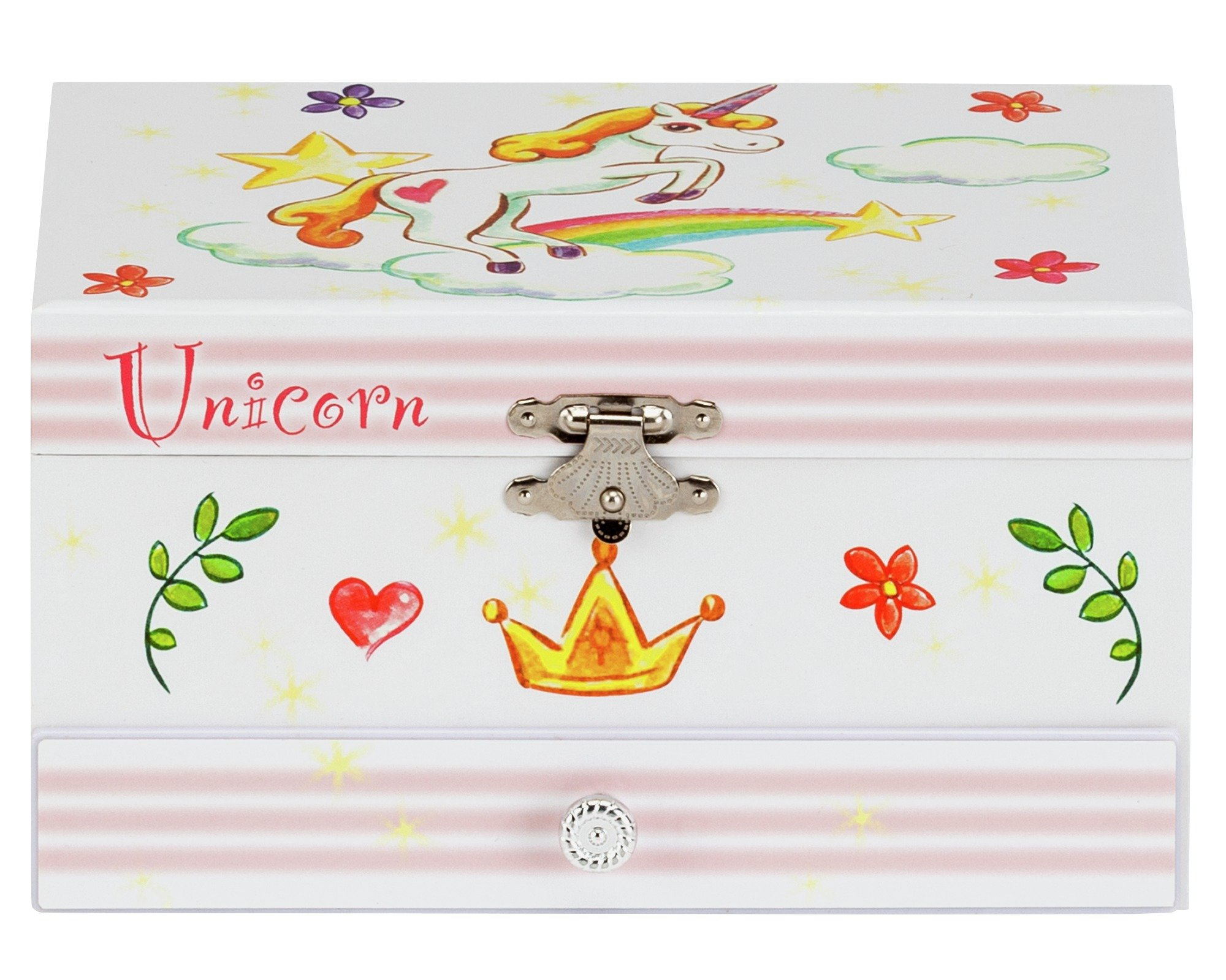 Unicorn Musical Jewellery Box