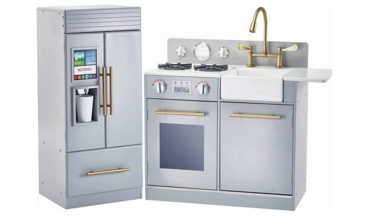 Buy Teamson Kids Urban Adventure Wood Toy Play Kitchen Set-Grey | Role play  toys | Argos