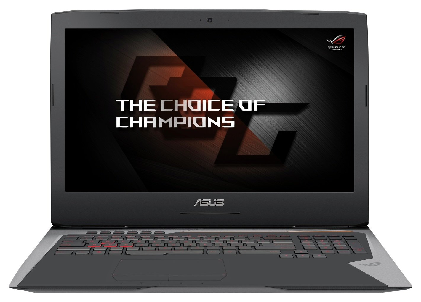 Image of Asus GL702 i7 17 In 24GB 1TB 256GB GTX 1070M Gaming Laptop