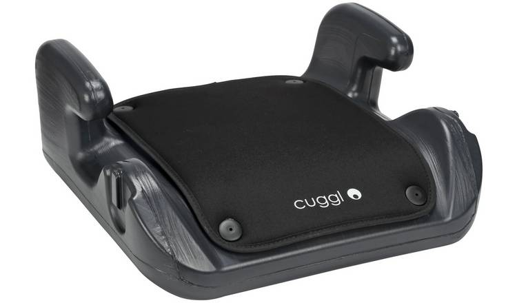 Cuggl Group 2/3 Plastic Car Booster Seat - Black
