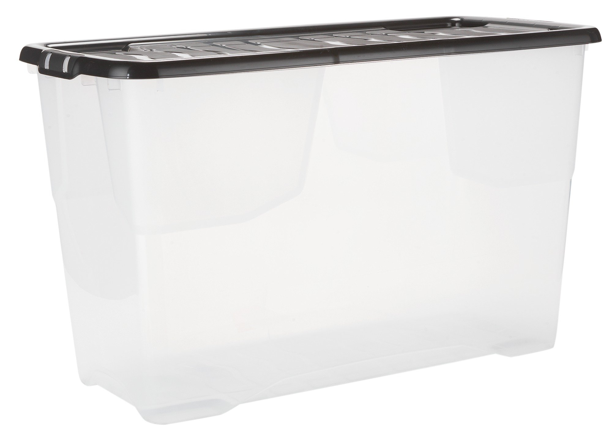 Argos Home 100 Litre Curved Plastic Storage Box And Lid699/4110