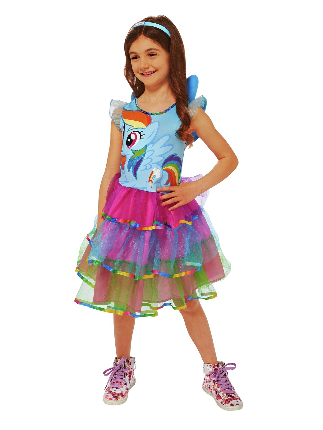 My Little Pony Rainbow Dash Fancy Dress Costume - 7-8 Years