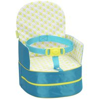 Badabulle Blue Travel Booster Seat.
