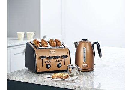 Tefal Maison 4 Slice Toaster - Copper