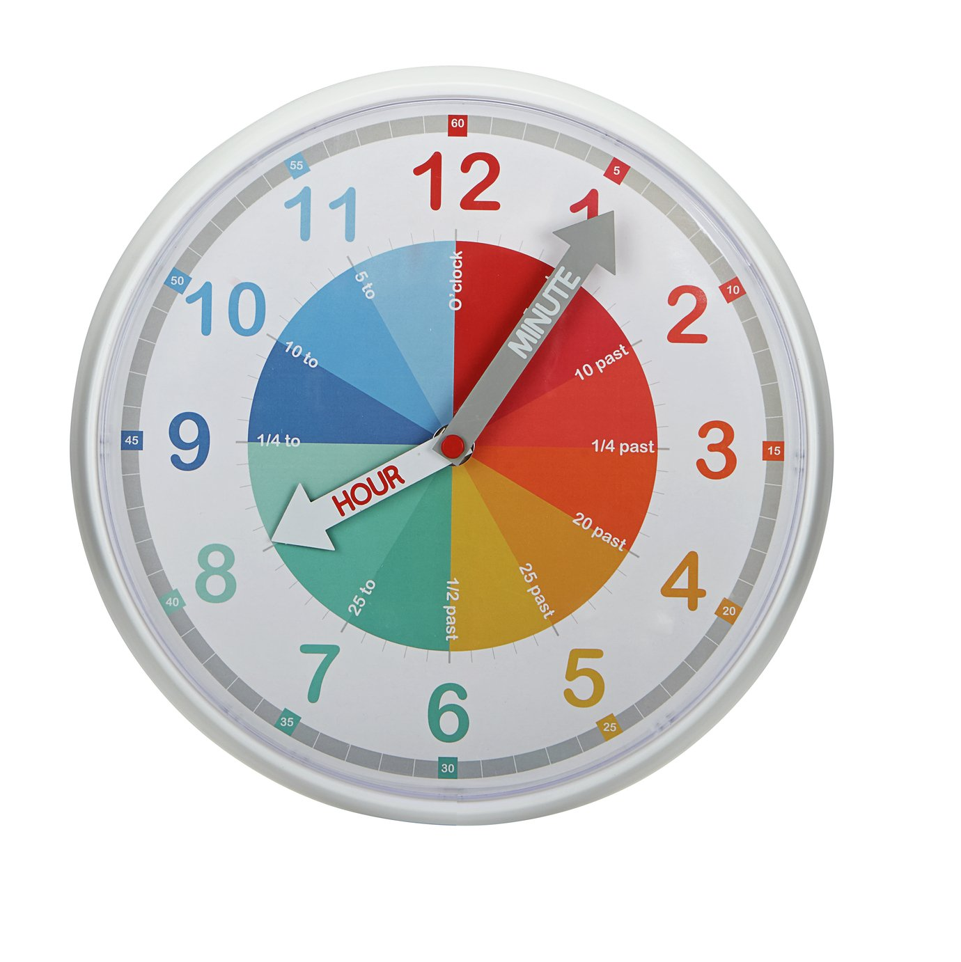 Argos Home Children's Wall Clock