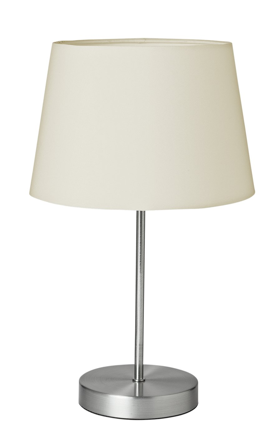 Argos Home Taper Touch Table Lamp - Cream
