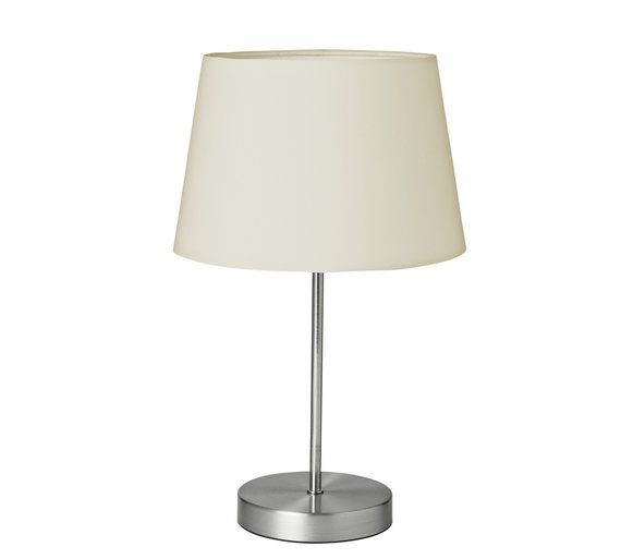 Buy home taper touch table lamp cream table lamps argos home taper touch table lamp cream mozeypictures Choice Image