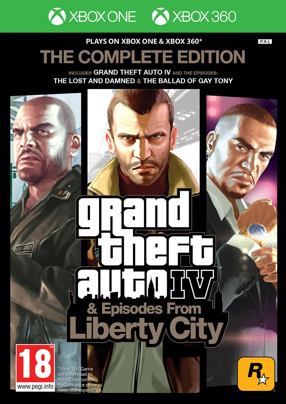 Image of Grand Theft Auto IV Complete Edition Xbox 360 Xbox One Game