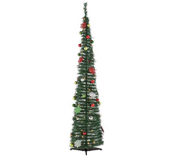 argos home festive fun 6ft pop up christmas tree