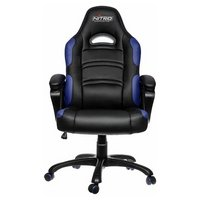Nitro Concepts C80 Pure Gaming Chair - Black / Blue.