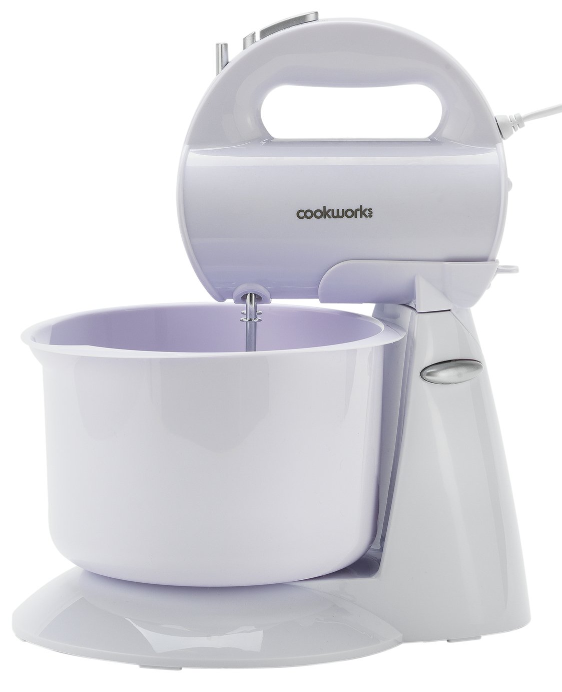 Cookworks Hand and Stand Mixer with Bowl