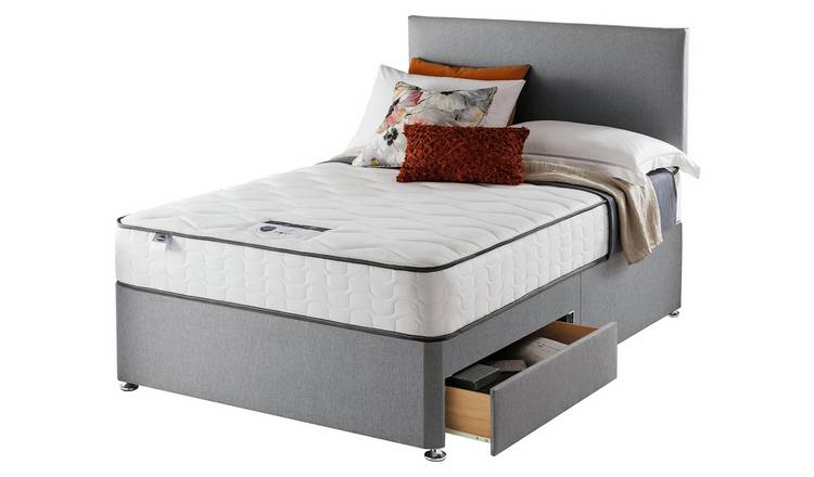 Silentnight Middleton 800 PKT Comfort 2DRW Grey Small DBL