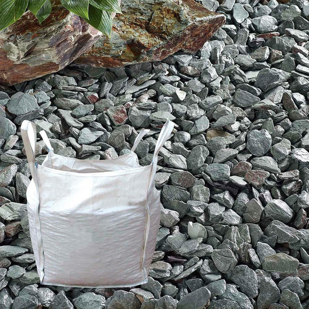 The Real Gravel Company Green Slate Chippings