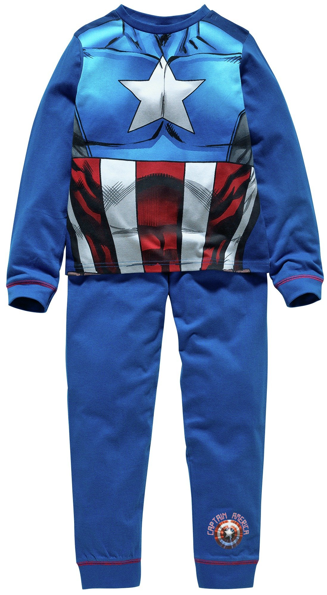 Captain America Novelty Pyjamas - 7-8 Years