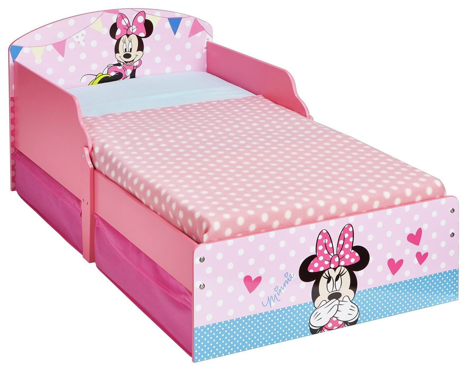 Buy Disney Minnie Mouse Toddler Bed at Argoscouk Your Online