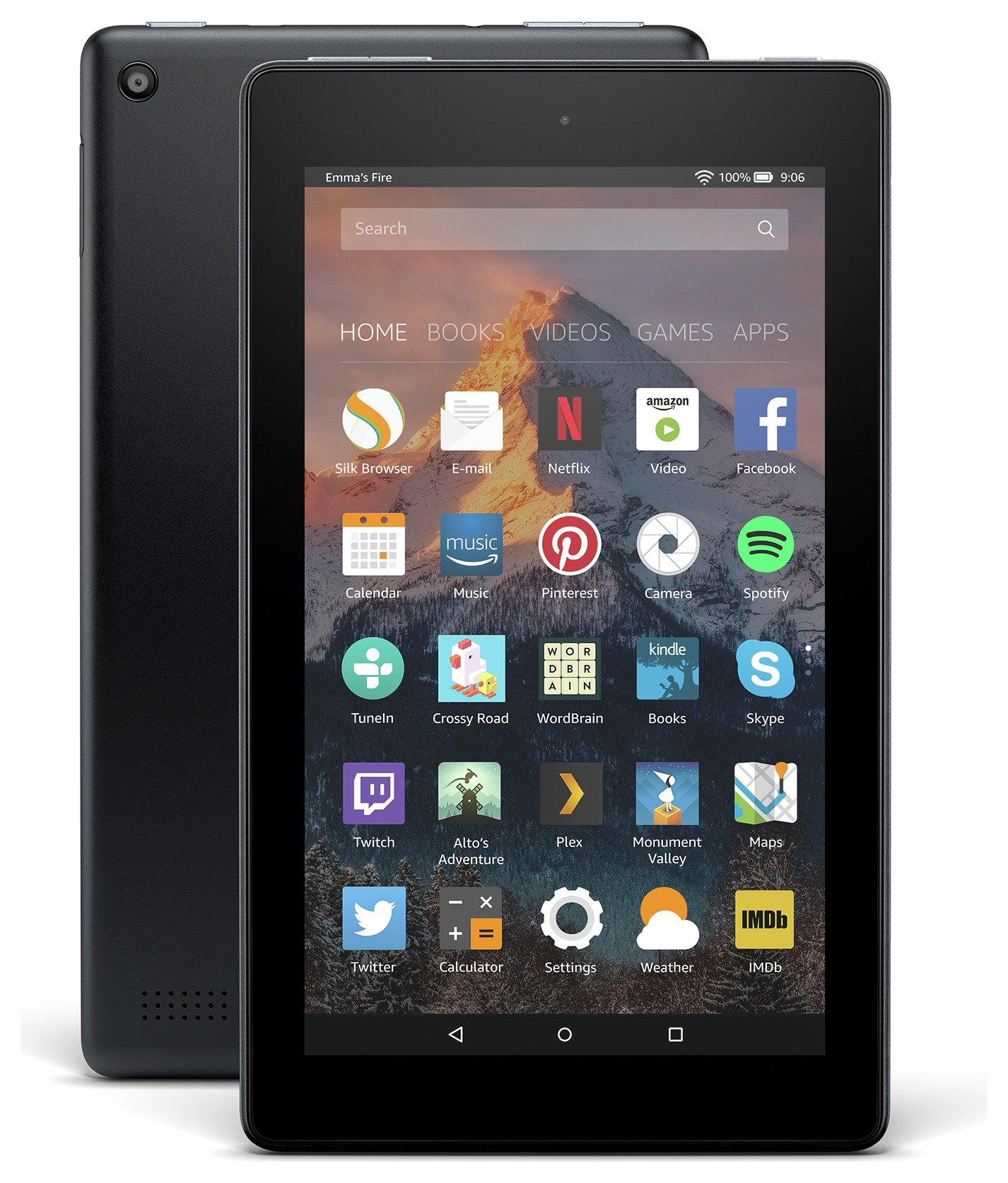 Amazon Fire 7 Alexa 7 Inch 16GB Tablet - Black