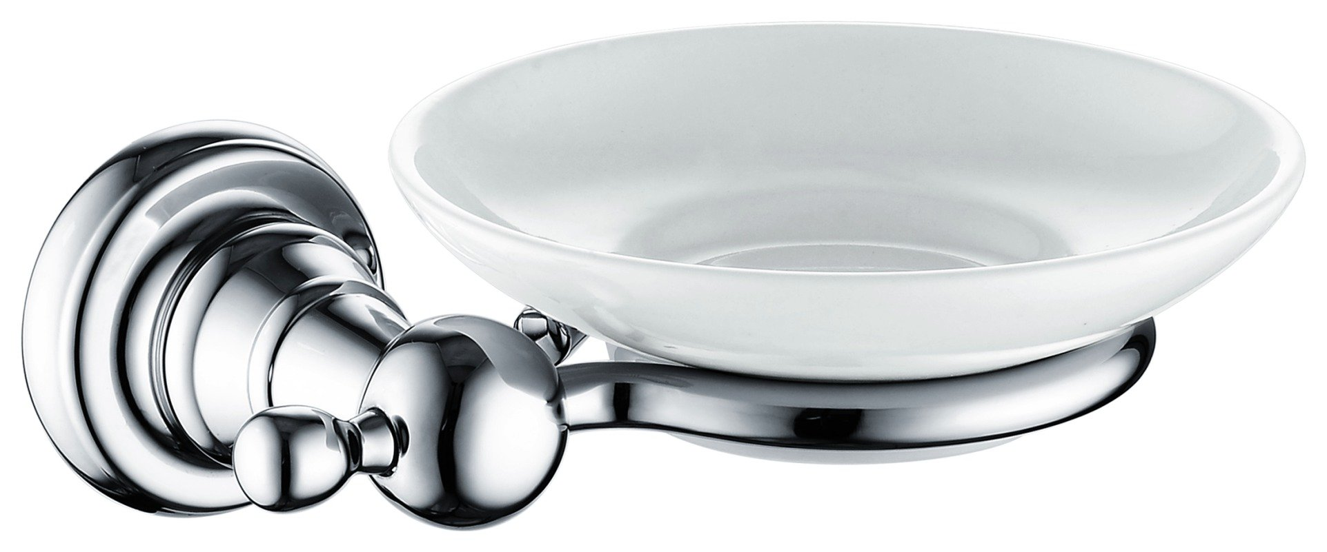 Image of Bristan 1901 Soap Dish - Silver.