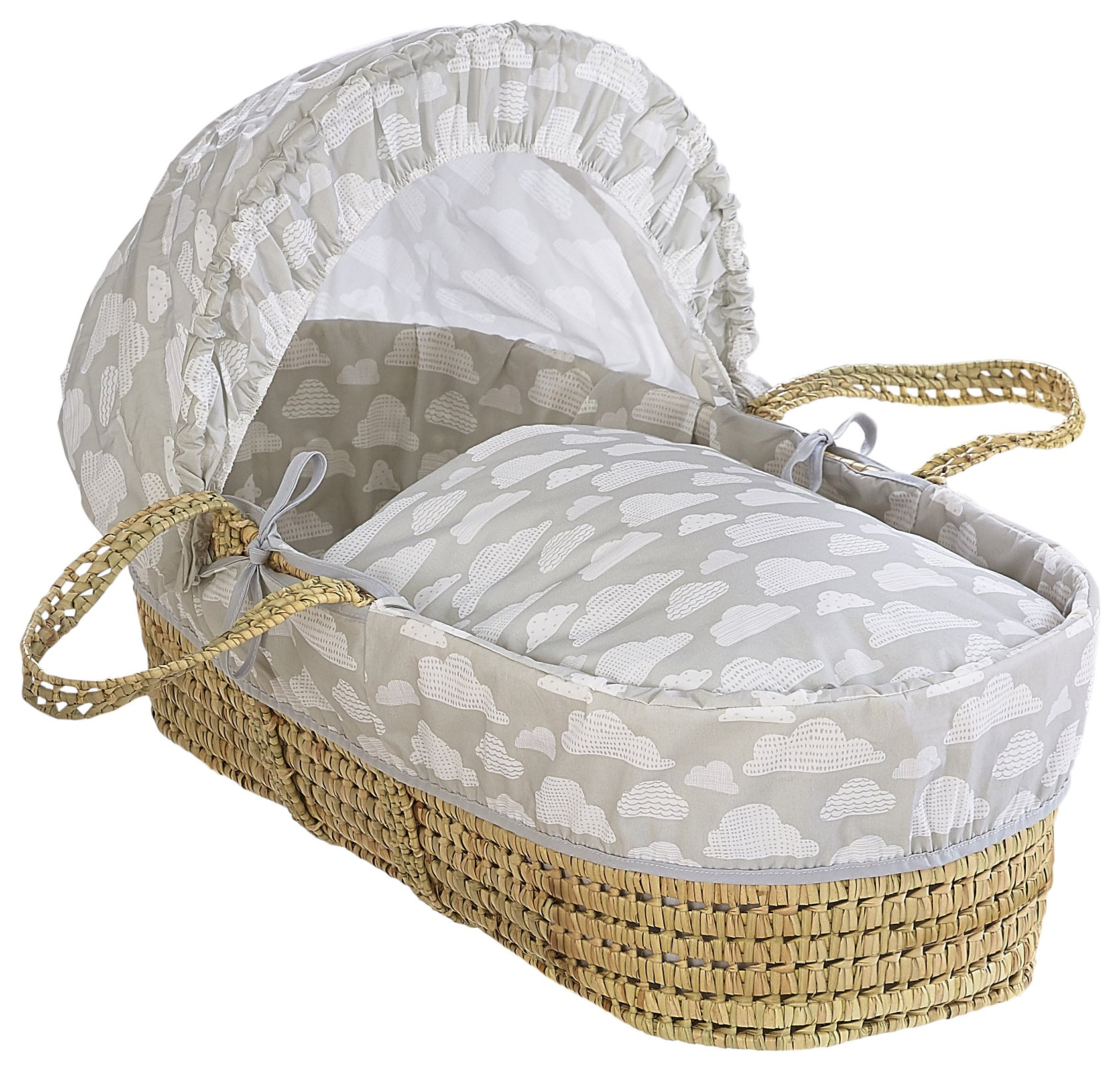 Cuggl Moses Basket - Cloud