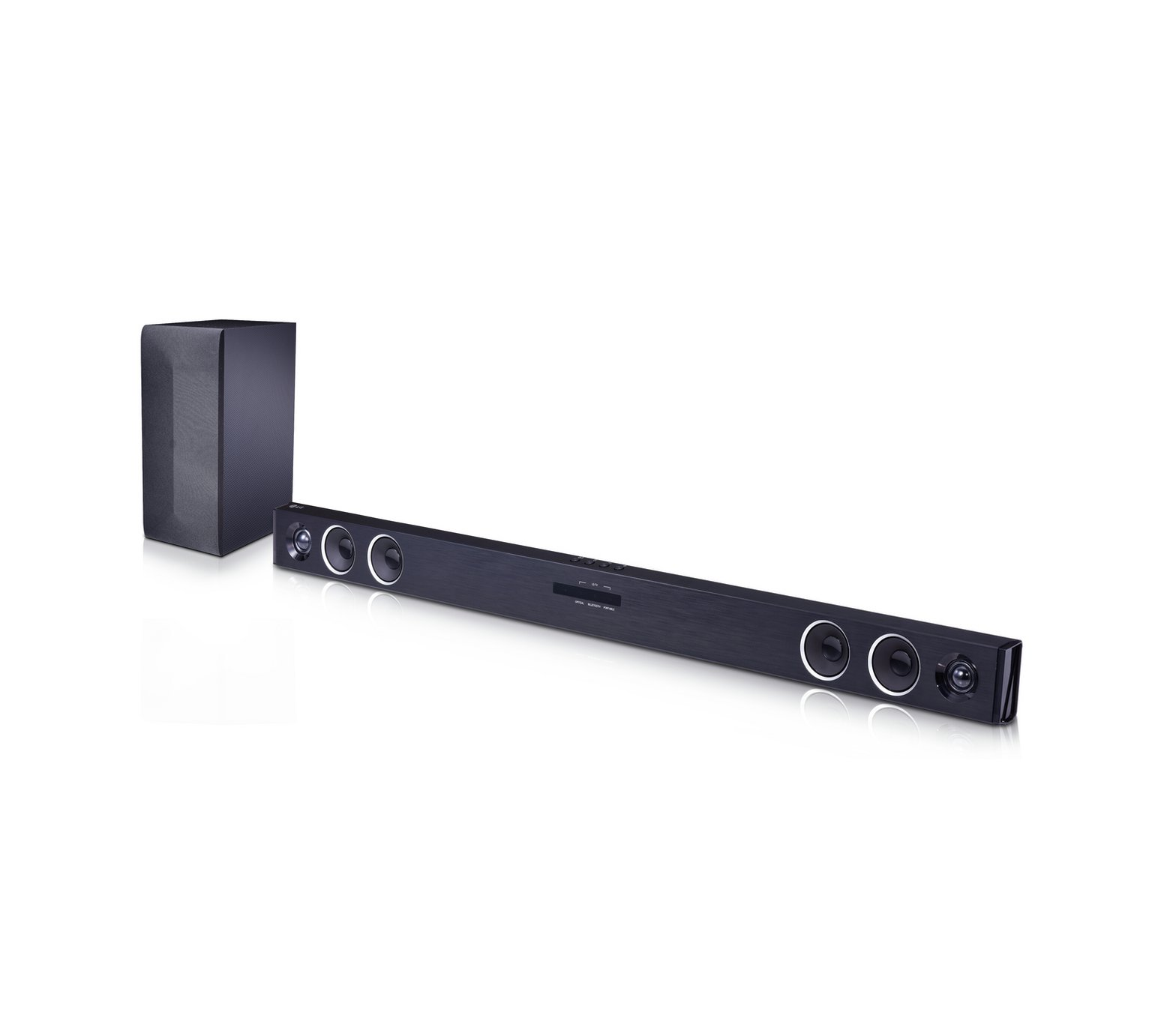LG SJ3 300W 2.1Ch Bluetooth Sound Bar with Wireless Sub