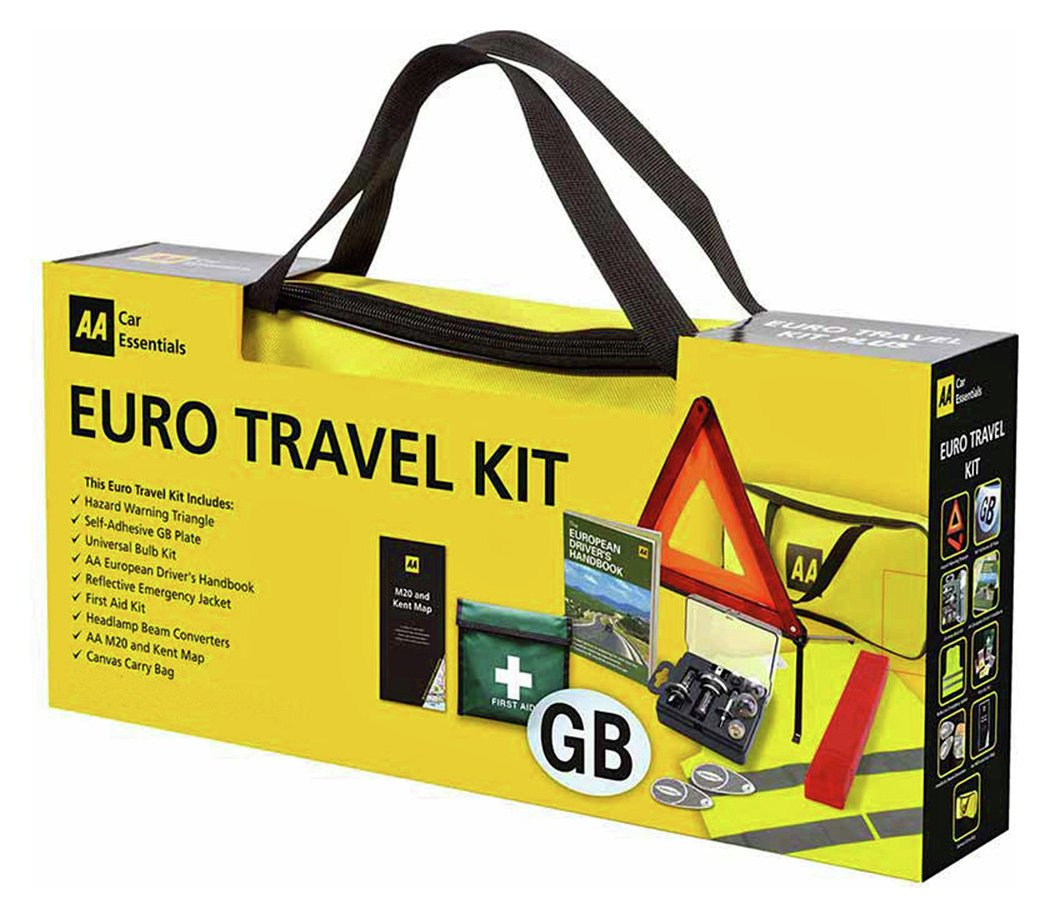 Buy The Aa European Travel Kit Car Safety And Security Argos