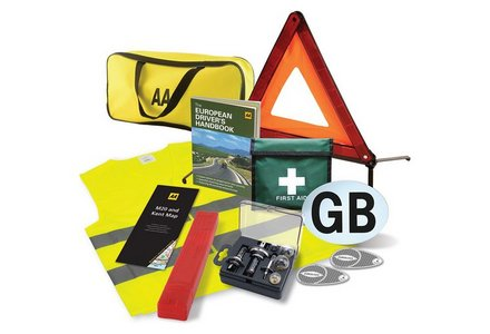 Image of the AA European Travel Kit.