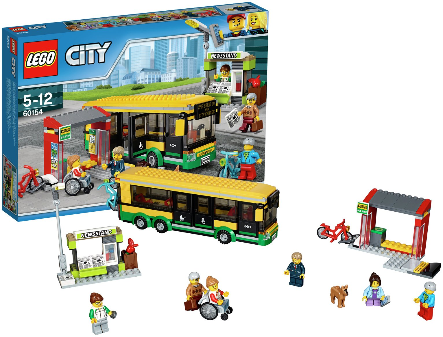 LEGO City Bus Station - 60154