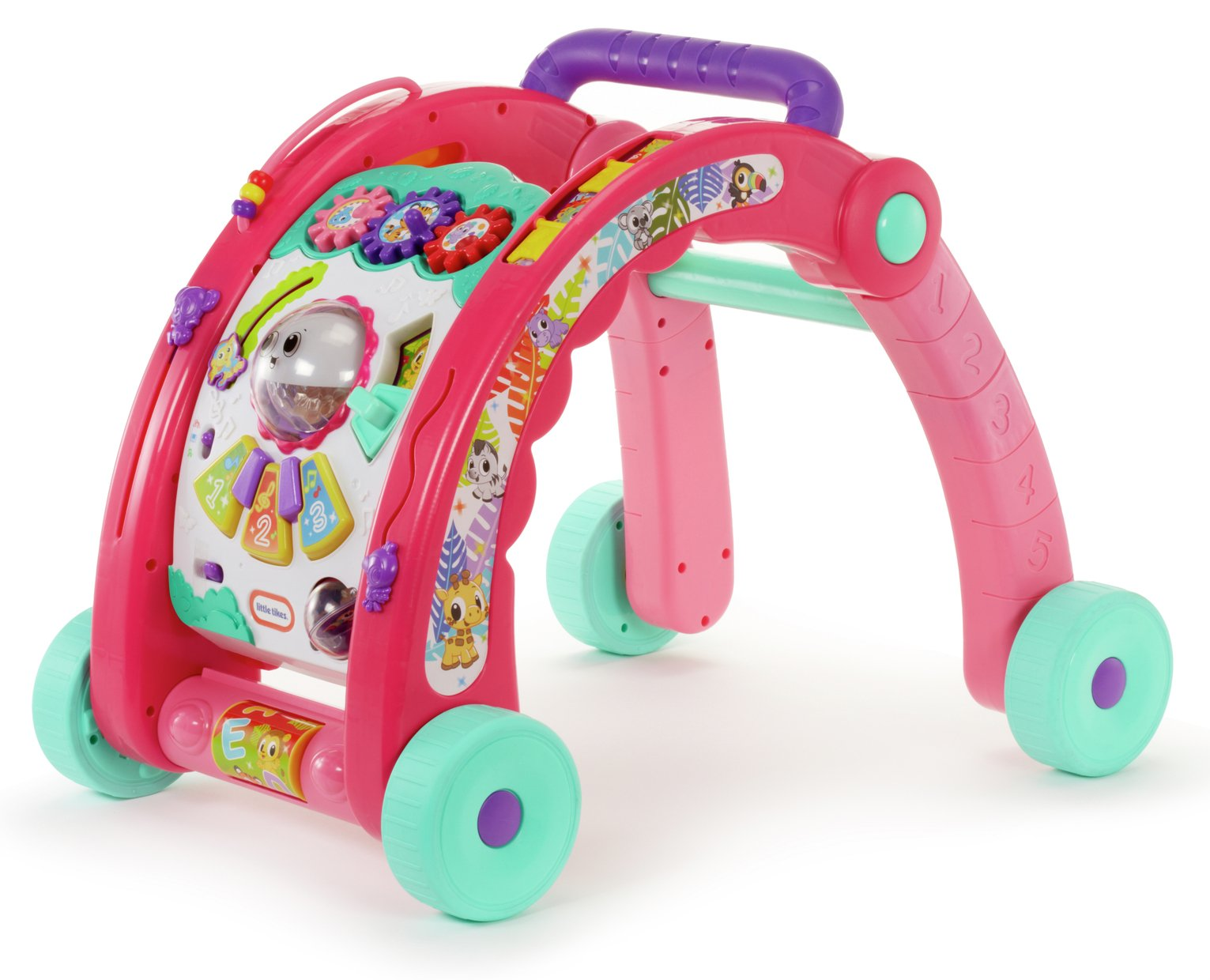 Little Tikes 3 In 1 Activity Walker   Pink