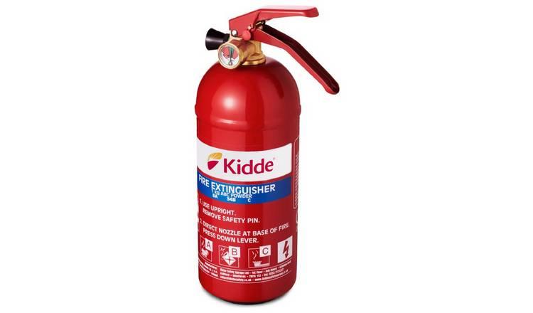 Buy Kidde Lifesaver Fire Extinguisher - 1Kg | Fire extinguishers and  blankets | Argos