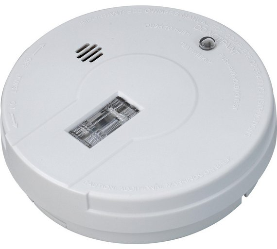 buy kidde smoke alarm with light and hush button at your online. Black Bedroom Furniture Sets. Home Design Ideas