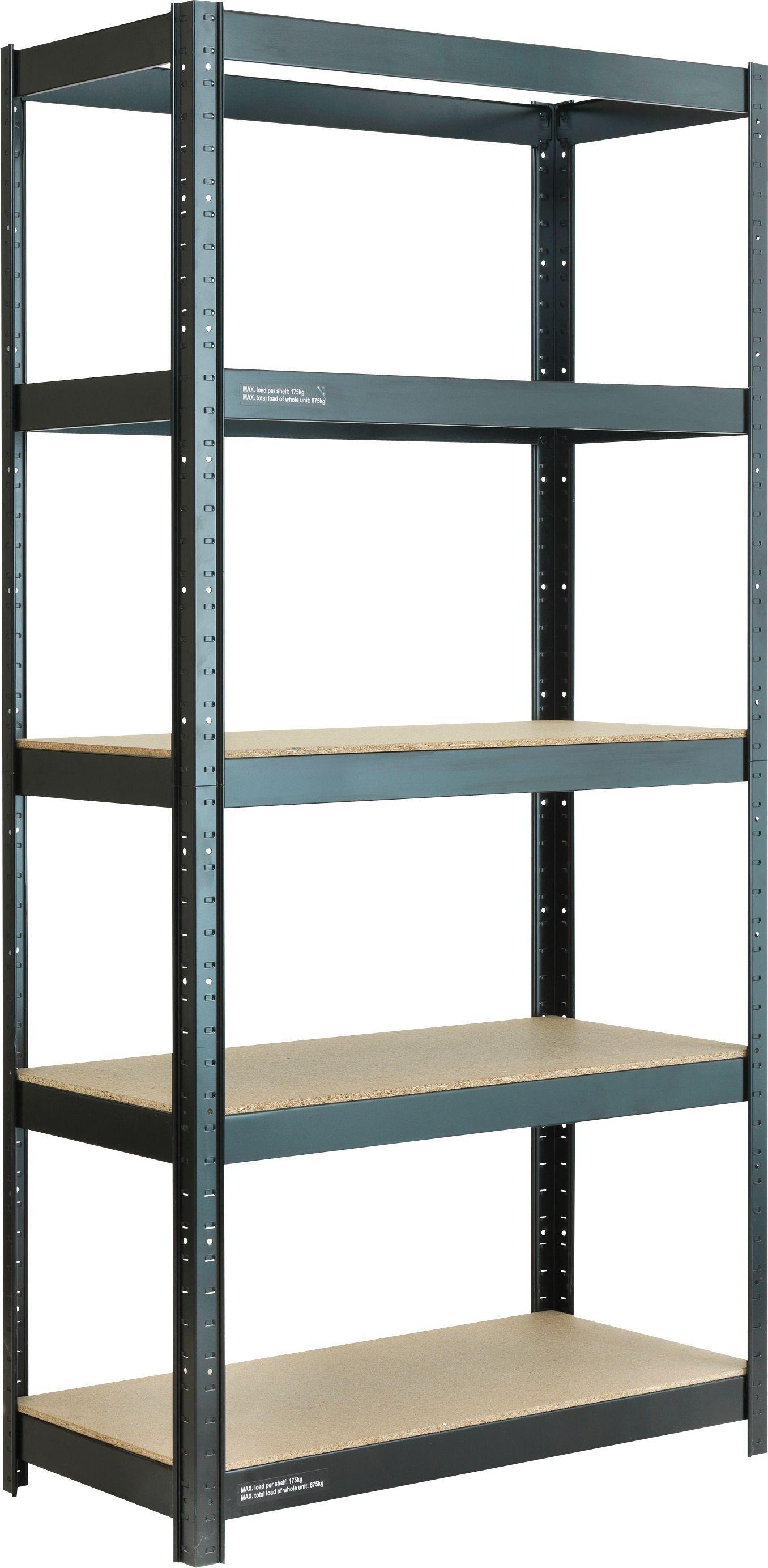 sale on 5 tier heavy duty shelving unit argos now. Black Bedroom Furniture Sets. Home Design Ideas