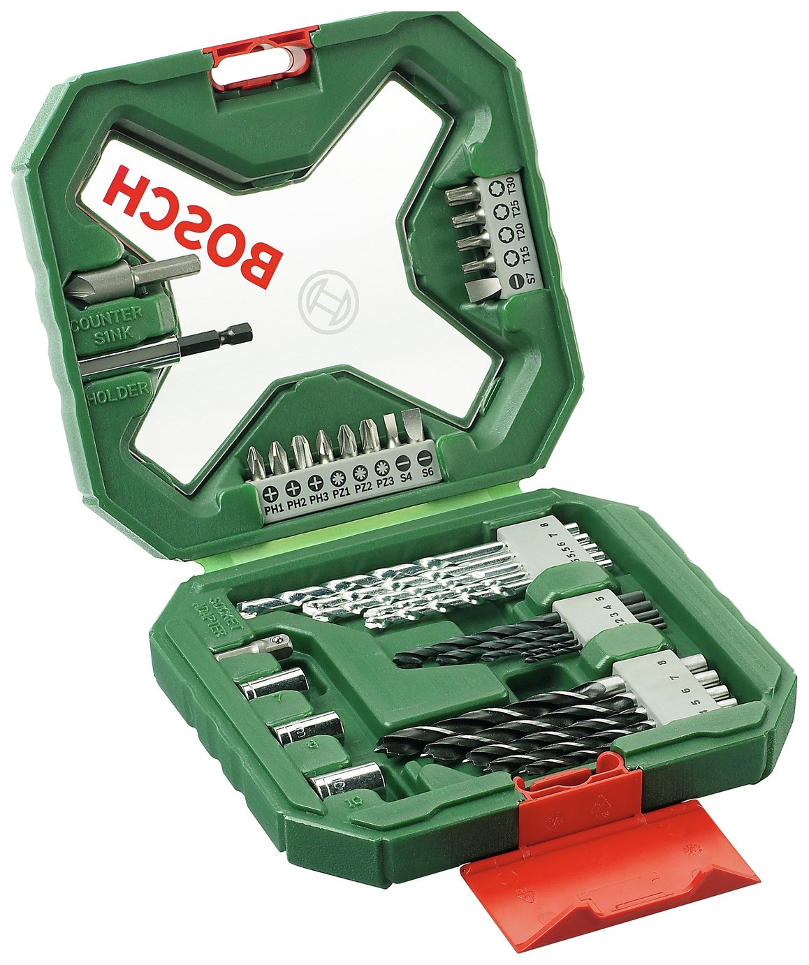 Bosch 34 Piece X-Line Classic Drill and Screwdriver Bit Set