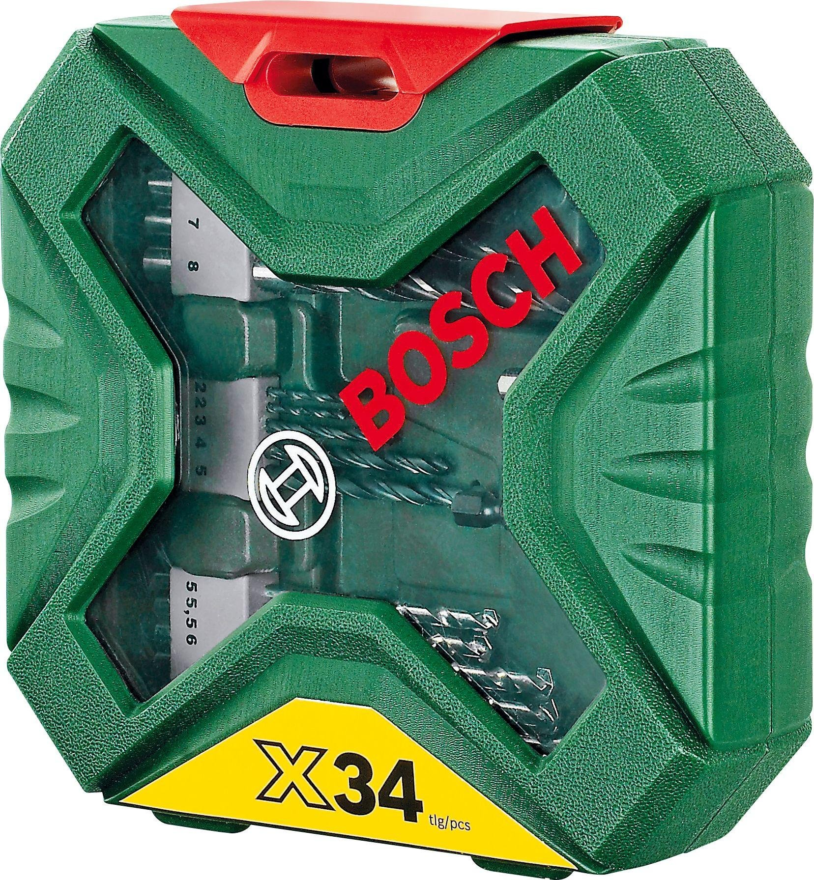 Image of Bosch - 34 Piece X-Line Classic Drill and Screwdriver Bit Set