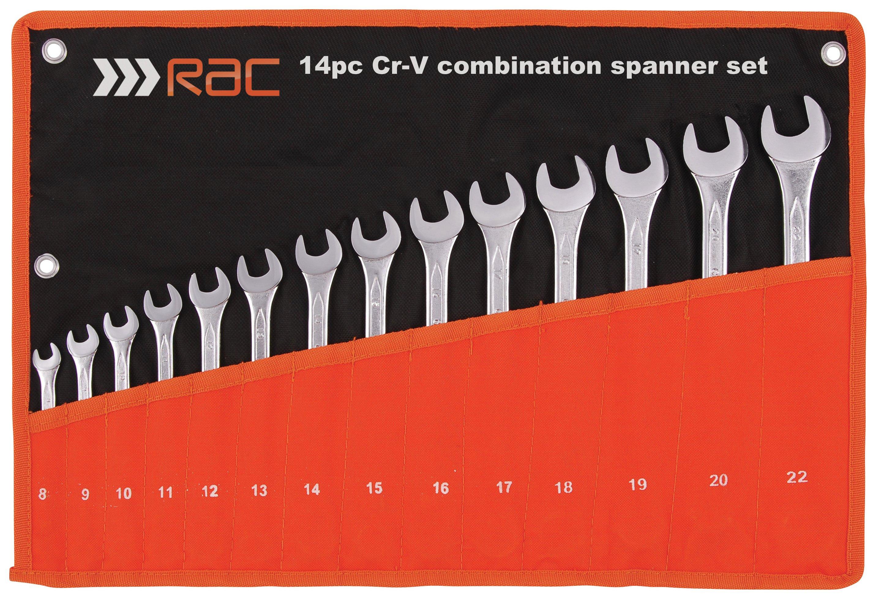 RAC 14 Piece Metric Spanner Set