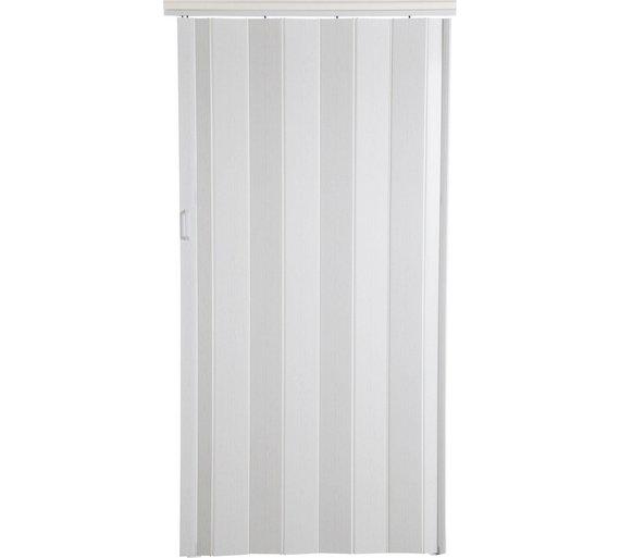 Buy White Oak Effect Folding Double Door | Doors | Argos