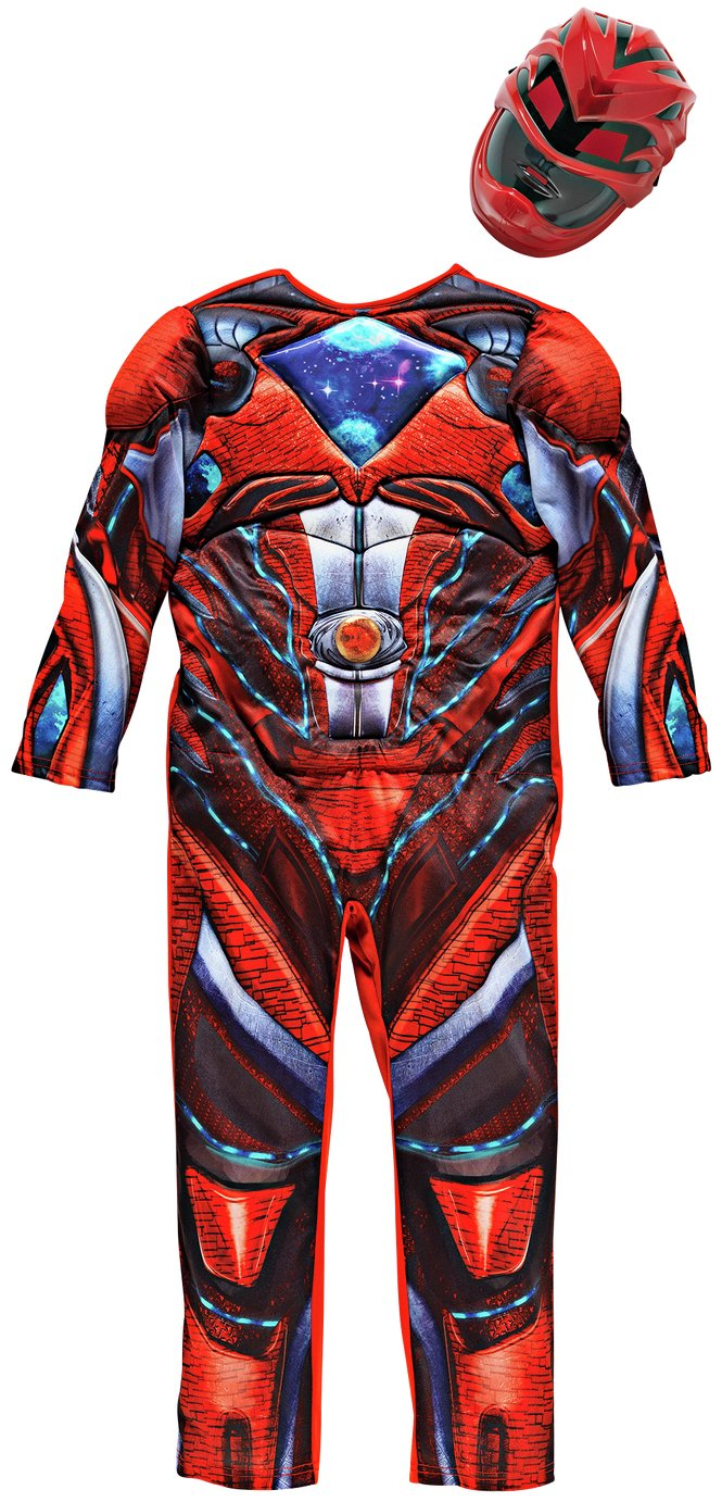 Power Rangers Children's Red Fancy Dress Costume - 7-8 Years