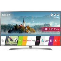 LG 49UJ670V 49'' 4K Ultra HD Silver LED TV with HDR