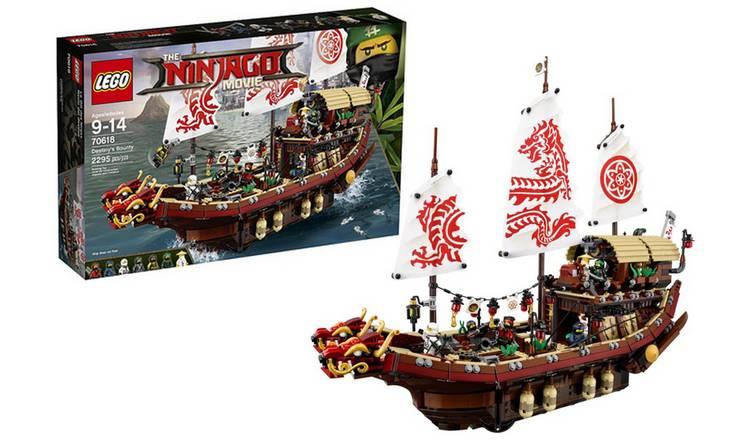 Buy LEGO Ninjago Movie Destiny's Bounty - 70618   LEGO   Argos
