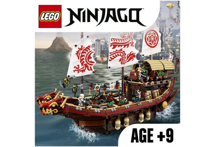 LEGO Ninjago Movie Destiny's Bounty - 70618