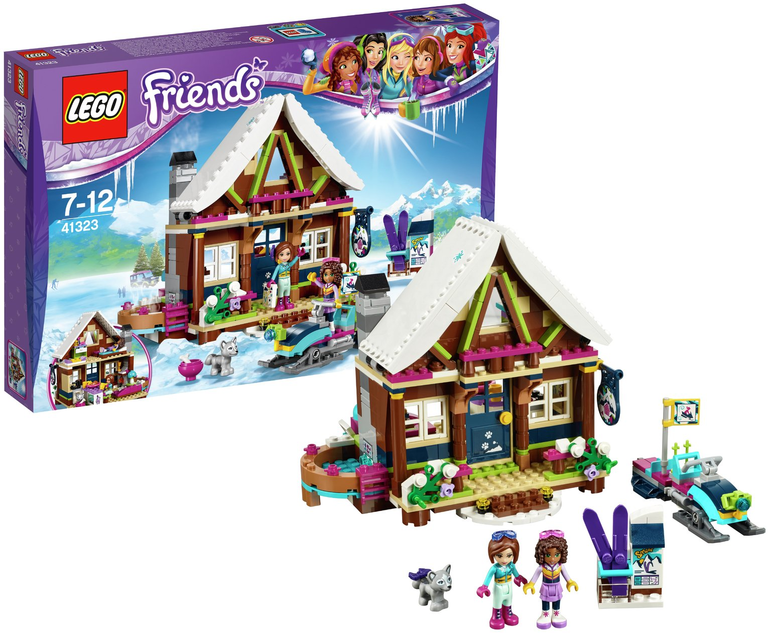 LEGO Friends Snow Resort Chalet - 41323