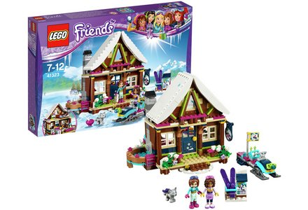 LEGO Friends Snow Resort Chalet - 41323.