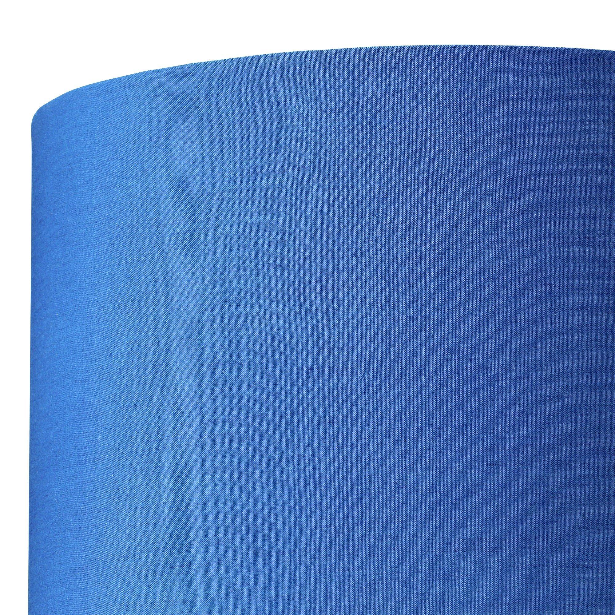 Argos Home Drum Light Shade - Ink Blue