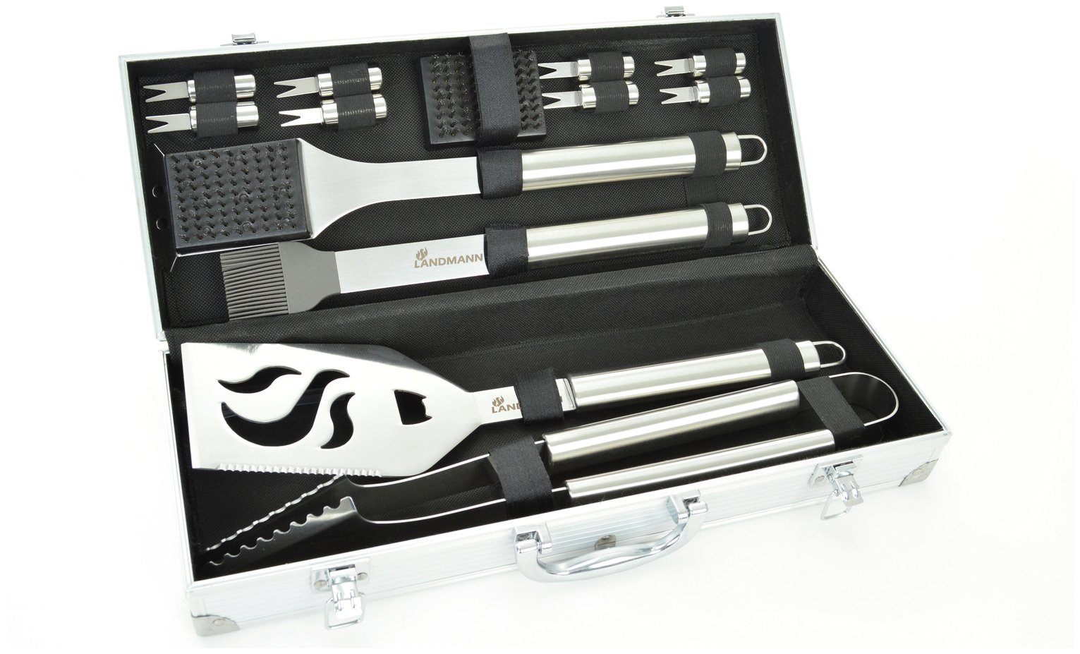 Image of Landmann 13 Piece Stainless Steel Tool Set