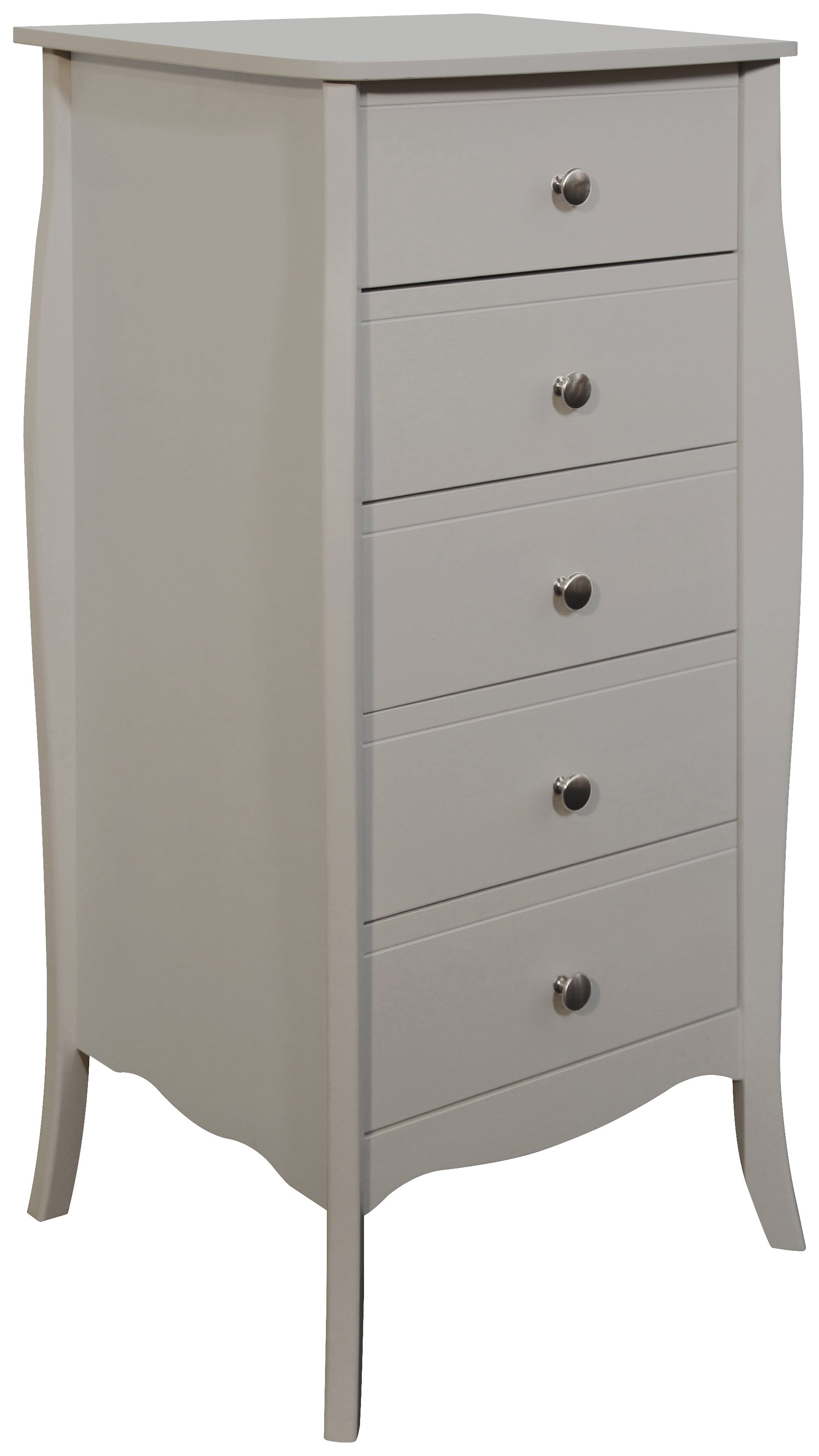 Argos Home Amelie 5 Drawer Narrow Chest of Drawers