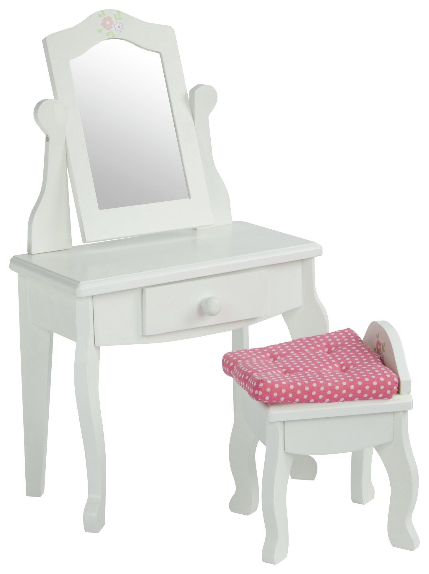 Olivia's Little World Little Princess Doll Vanity Table - White