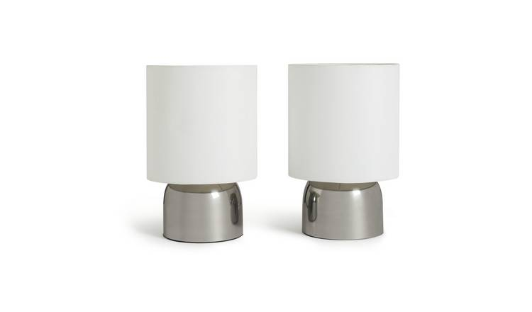 Touch WhiteTable Super lampsArgos Lamps Home of Buy Argos Pair Table zqVSUMp