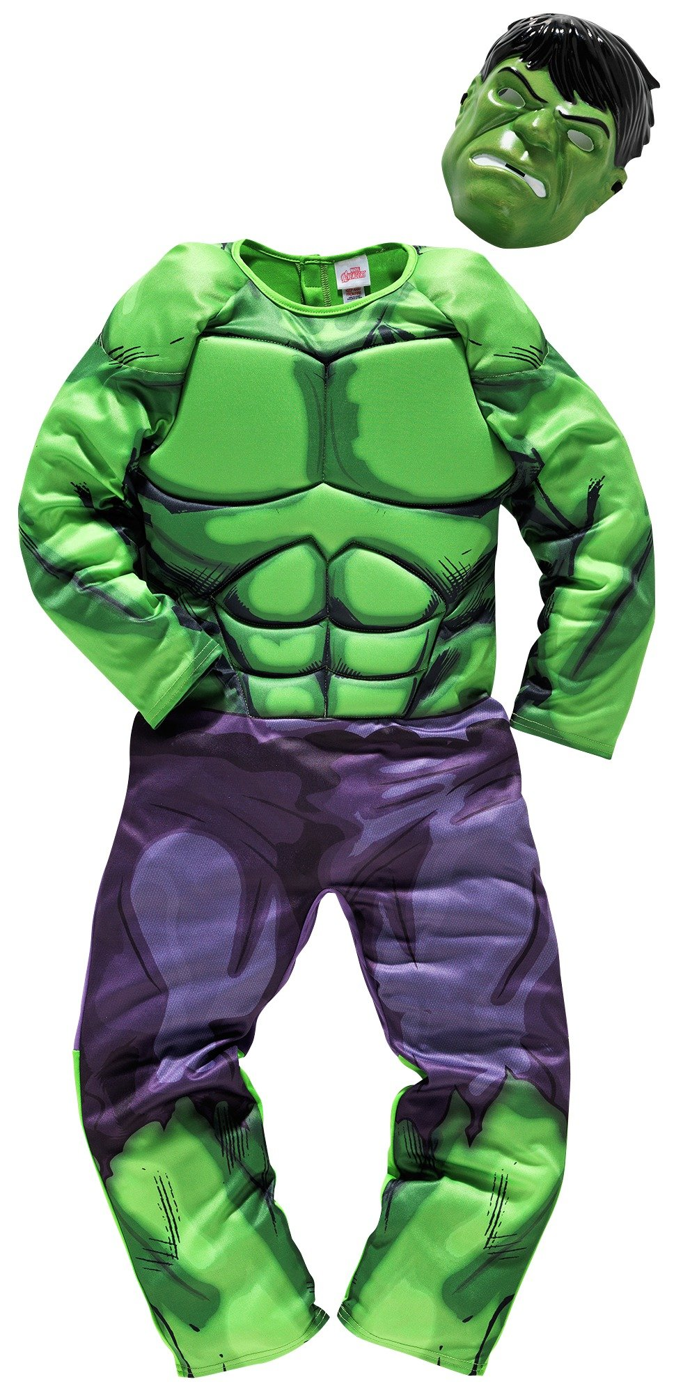 Marvel Hulk Children's Fancy Dress Costume - 5-6 Years
